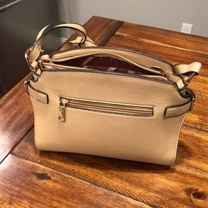 Handbags - Tan long strap purse